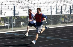 Physical fitness training: running