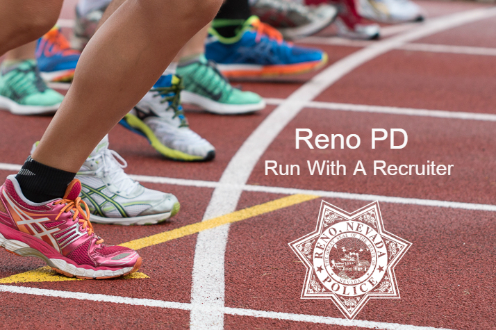 Run with a Recruiter poster